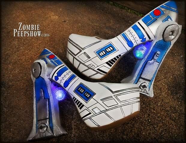 Туфли-роботы от Zombie Pipshow