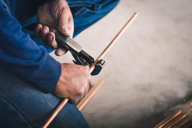 Как из старых плоскогубцев сделать труборез для медных труб