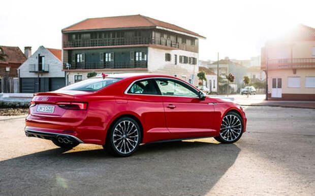 Тест Audi A5 Coupe: пока не беспилотник