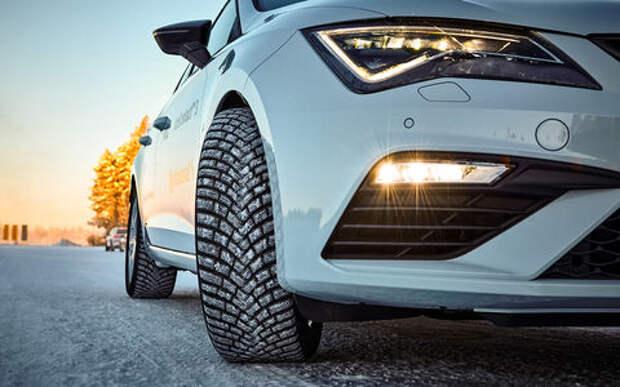 Тест новых зимних шин Continental - с гибкими шипами!
