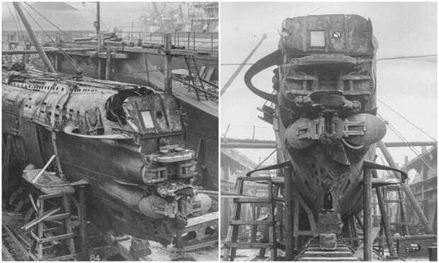 UB-110: редкие фото немецкой подлодки