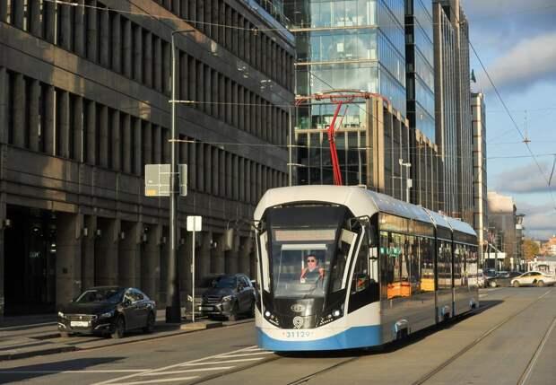 Трамвайные пути в Строгине отремонтируют ко Дню Победы