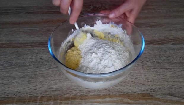 Оригинальный рецепт: печенье с яблочно — ореховой начинкой