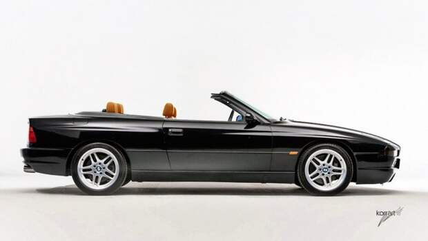 BMW 850CSi Cabrio авто, автодизайн, автомобили, дизайн, фотомонтаж, фотошоп, юмор, янгтаймер