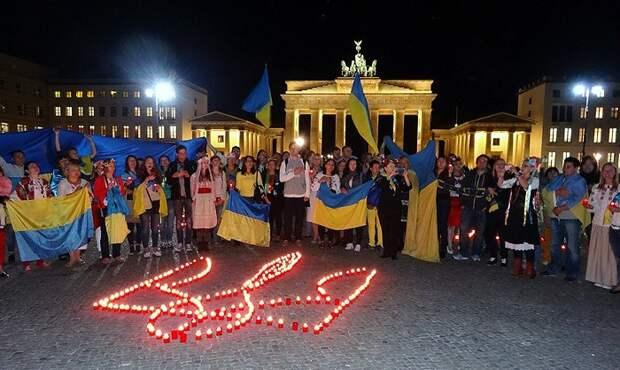 Украина вмешивается в выборы в Германии