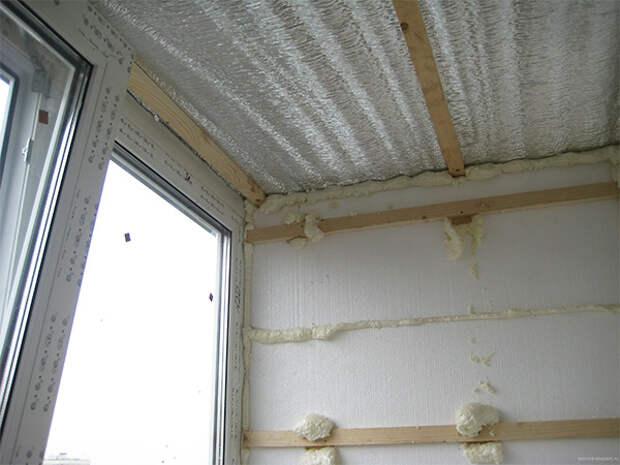 Полезные советы по гидроизоляции потолка на балконе и лоджии