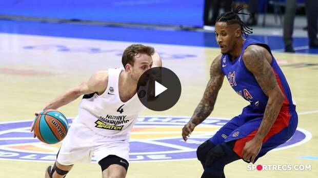 CSKA vs Nizhny Novgorod Condensed Game Quarterfinals Game 1   Season 2020-21