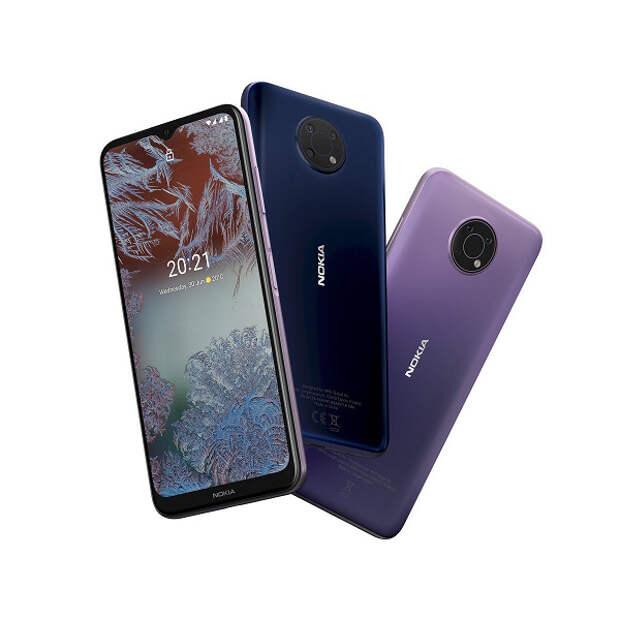 48 Мп, Android 11 и до трёх дней автономной работы за 13000 рублей. Представлены недорогие смартфоны Nokia G10 и Nokia G20