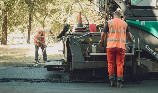 По нацпроекту в Волгоградской области ремонтируют трассу «Михайловка-Котово»