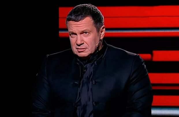 «Вы приносили войну в наш дом дважды»: Соловьев в эфире ТВ ответил немцу Шультессу на обвинения России в агрессии