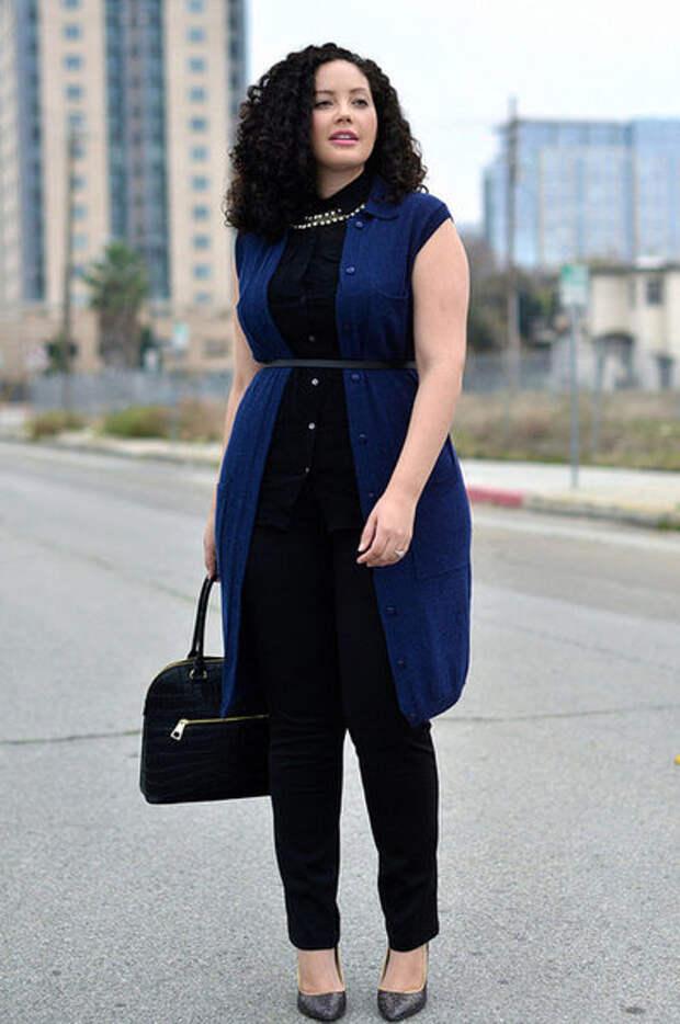 Как одеваться полным женщинам. Советы стилистов