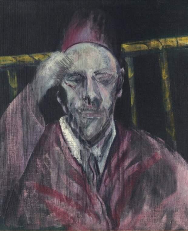 Ф. Бэкон. «Портрет папы Пия XII»