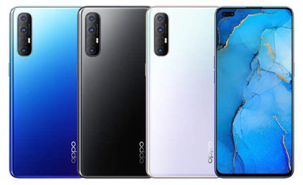 Oppo Reno 3 Pro стал первым в мире смартфоном на чипсете MediaTek Helio P95