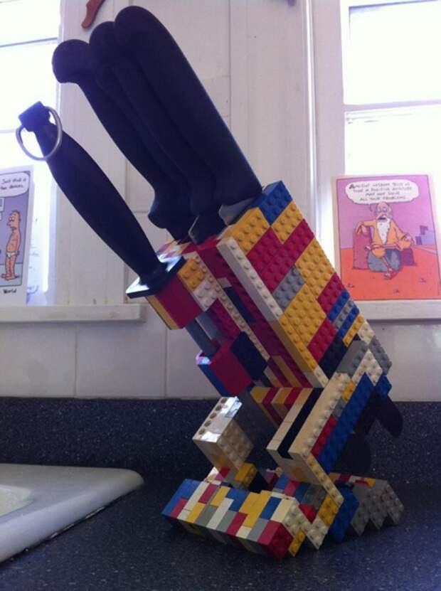 Лего в дизайне интерьера