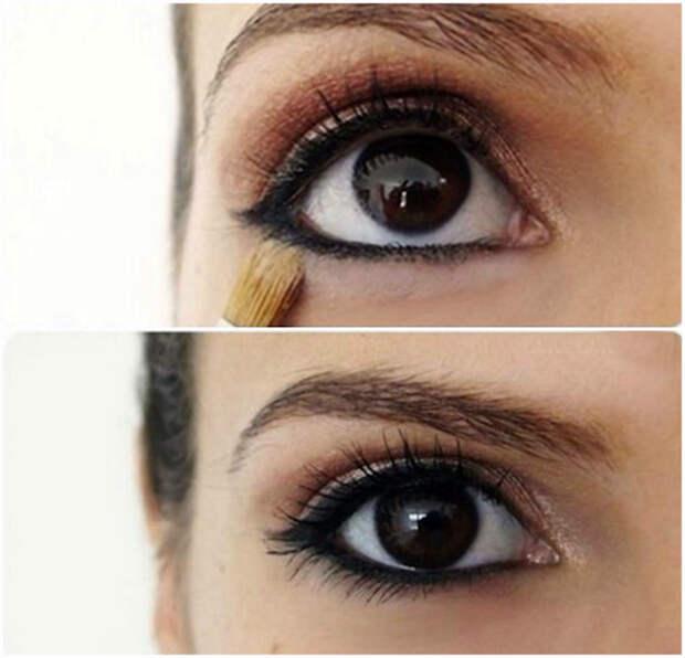 Стойкость карандаша для глаз.