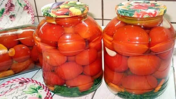 Маринованные помидоры с лимонной кислотой. Каждый год готовлю только по этому рецепту 2