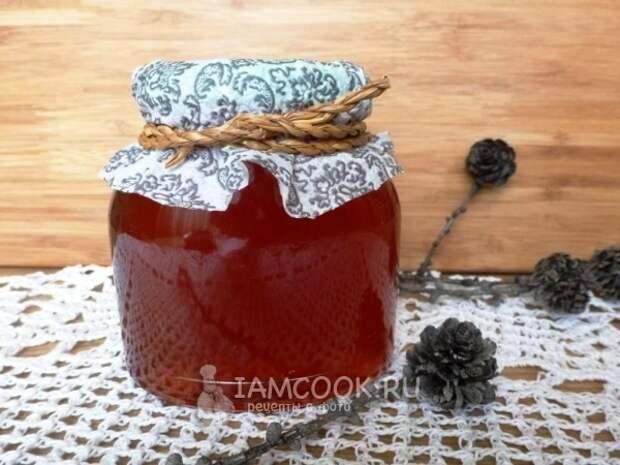 Фото соснового мёда