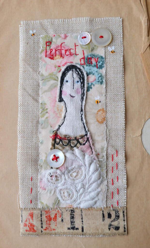 Крошечные сказки в текстиле -- особенный взгляд на мир в «наивном» творчестве Hens Teeth