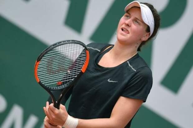 Российская теннисистка Самсонова впервые выиграла турнир WTA
