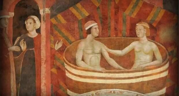 Как купались рыцари, и почему были запрещены общественные бани
