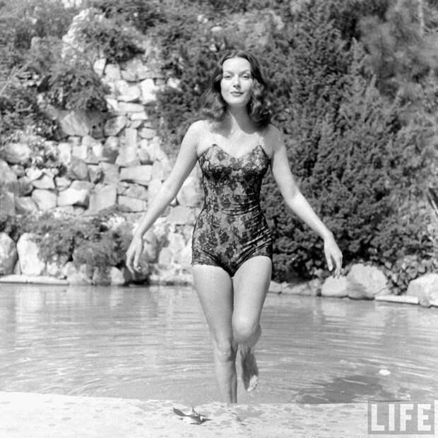 Хэйзел Брукс – рыжеволосая красавица из 40-х.