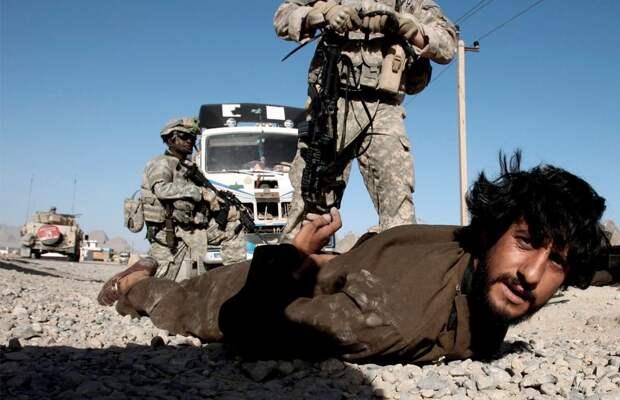 Незаконные задержания афганцев американскими оккупантами