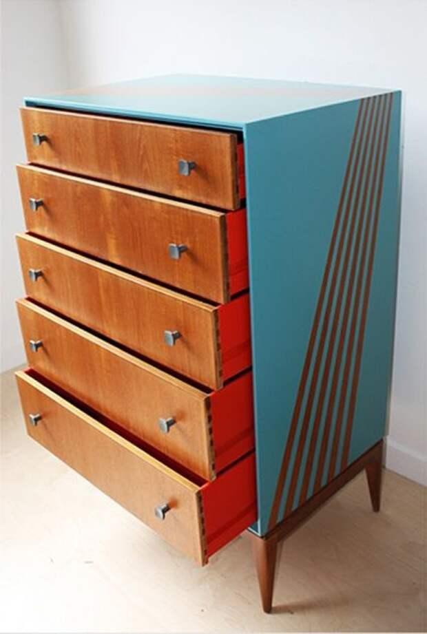 Слегка переделанная мебель 1960-х годов (подборка)