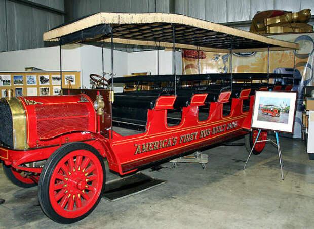 first mack bus ever built.