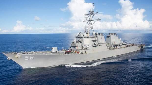 Корабль ВМС США пересек границу РФ. События дня. ФАН-ТВ