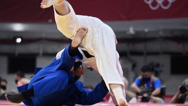 Российский дзюдоист Башаев победил двукратного олимпийского чемпиона Ринера ивышел вполуфинал Олимпиады