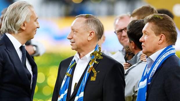 Фанаты «Зенита» освистали губернатора Санкт-Петербурга во время церемонии награждения команды