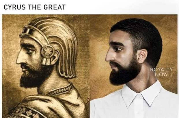 Дизайнер Бекка Саладин представила, как бы выглядели известные исторические личности в наши дни Длиннопост, Исторические личности, Фотография, Реконструкция