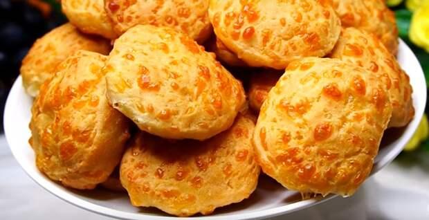 Сырное печенье: всего три ингредиента