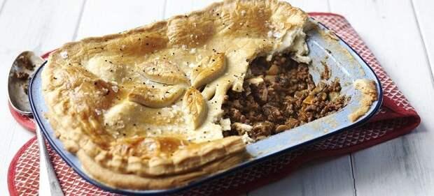 Пирог с фаршем в духовке - сытная выпечка и для перекуса, и для застолья