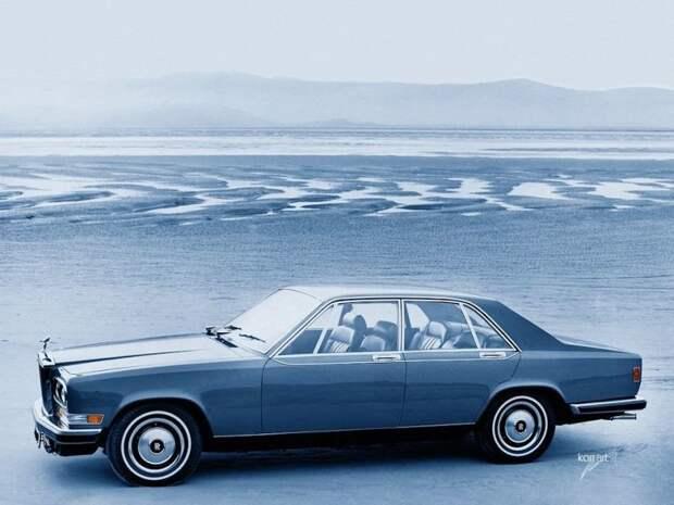 Rolls Royce Camargue авто, автодизайн, автомобили, дизайн, фотомонтаж, фотошоп, юмор, янгтаймер