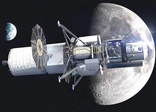 Blue Origin представила полноразмерный макет лунного модуля