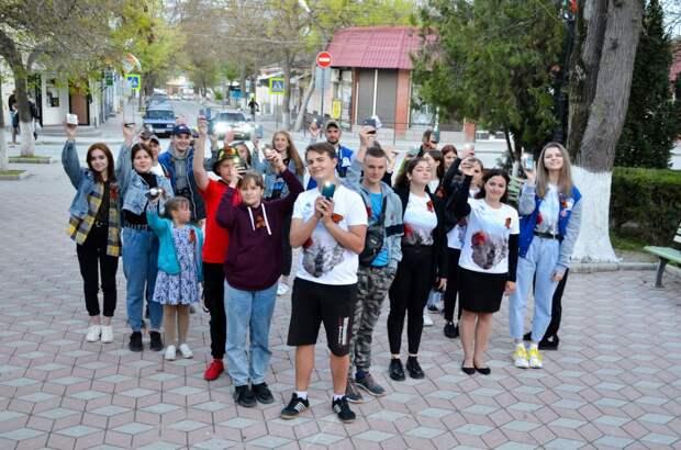 В Черноморском районе впервые прошла акция «Мы помним Победу»