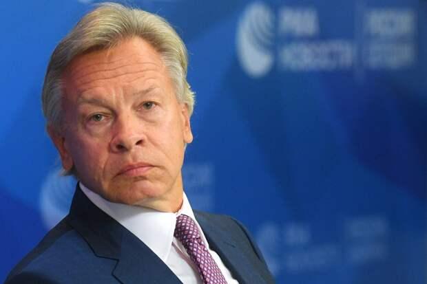 Пушков объяснил, почему Байден настаивает на саммите с Путиным