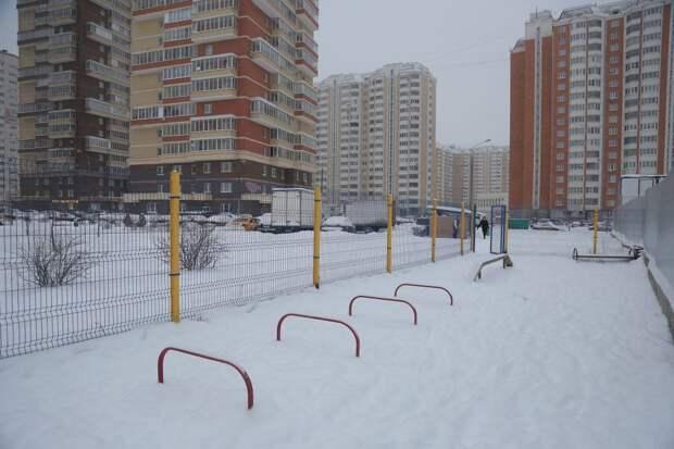 Собачью площадку в 1-м квартале Некрасовки отодвинули от парковки
