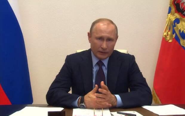 Путин предупредил о сохранении опасности распространения коронавируса