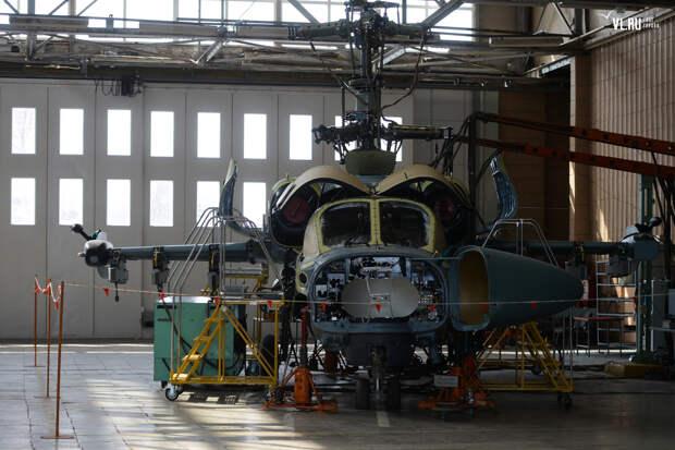 Один из первых вертолетов Ка-52 для Египта