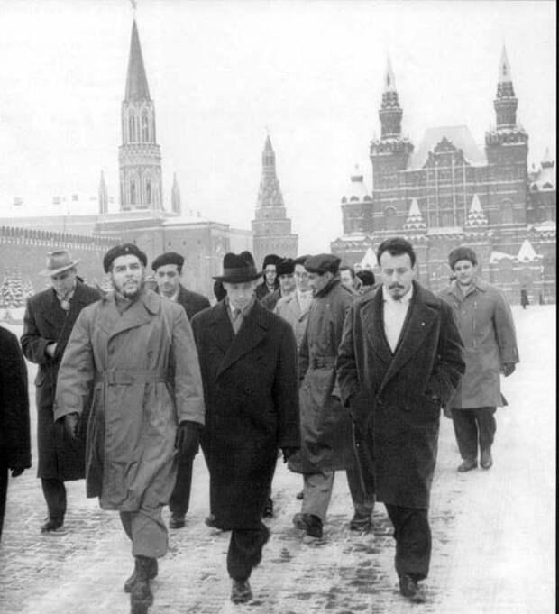 Че Гевара вМоскве, 1964 год.