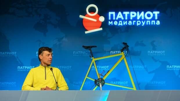 Создатель самого высокого велосипеда признался, каким будет его следующее изобретение