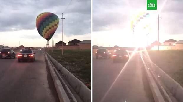 В Казахстане воздушный шар оставил без света 4 тысячи человек
