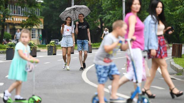 В Москве в понедельник ожидается до +30°С