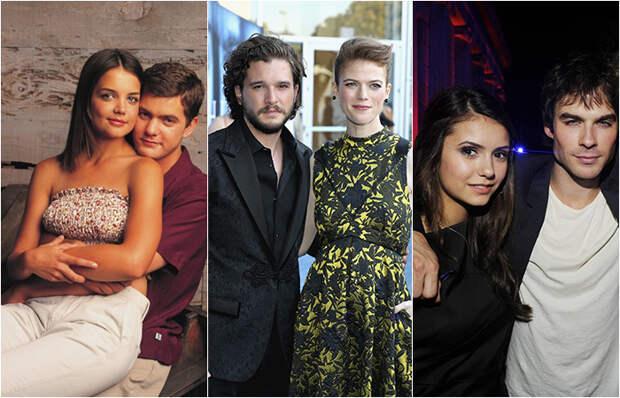 10 влюбленных пар из сериалов, которые поженились в реальной жизни