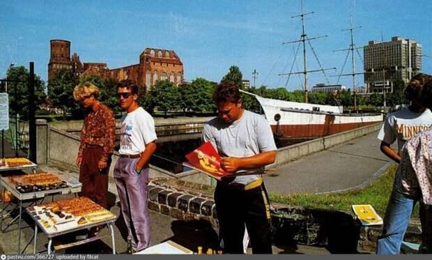 Торговцы янтарём в Калининграде. история, факты, фото