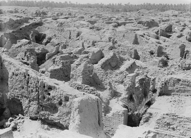 Руины Вавилона в 1932 году