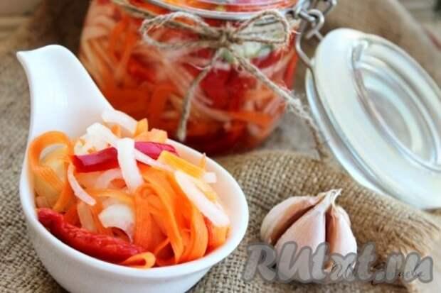 Маринованный болгарский перец быстрого приготовления