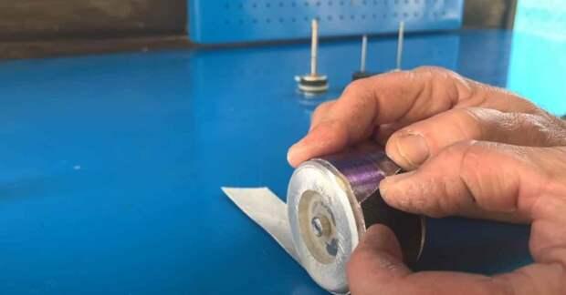 Как сделать шлифовальную насадку для дрели и шуруповерта